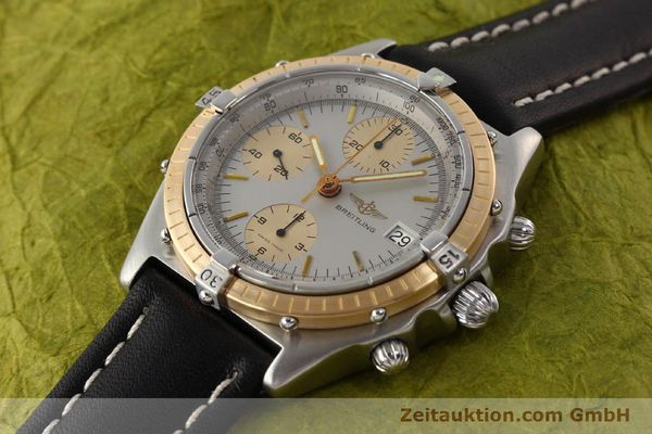 Used luxury watch Breitling Chronomat chronograph steel / gold automatic Kal. VAL 7750 Ref. 81950  | 141690 01