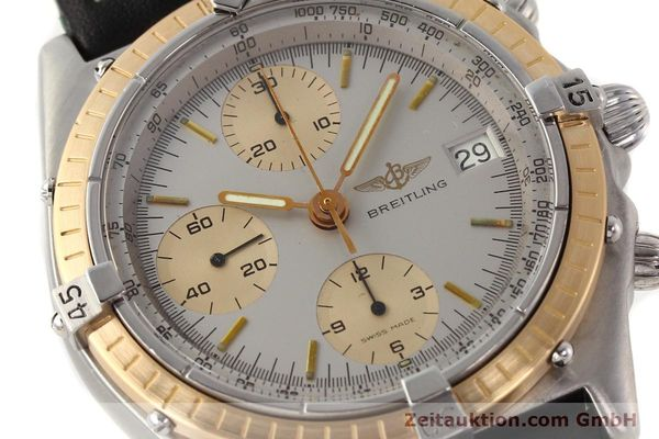 Used luxury watch Breitling Chronomat chronograph steel / gold automatic Kal. VAL 7750 Ref. 81950  | 141690 02