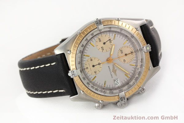 Used luxury watch Breitling Chronomat chronograph steel / gold automatic Kal. VAL 7750 Ref. 81950  | 141690 03