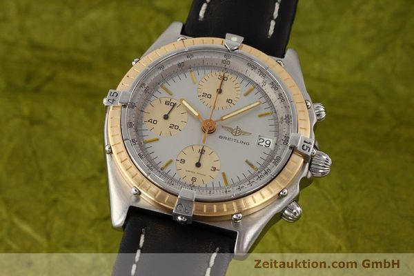 Used luxury watch Breitling Chronomat chronograph steel / gold automatic Kal. VAL 7750 Ref. 81950  | 141690 04