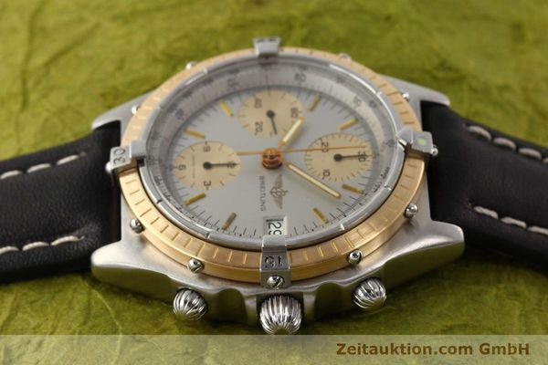 Used luxury watch Breitling Chronomat chronograph steel / gold automatic Kal. VAL 7750 Ref. 81950  | 141690 05