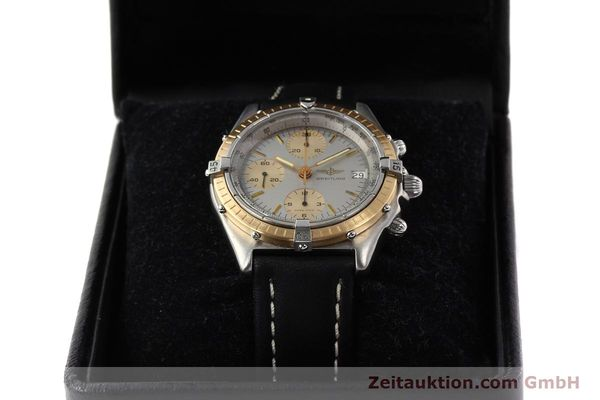 Used luxury watch Breitling Chronomat chronograph steel / gold automatic Kal. VAL 7750 Ref. 81950  | 141690 07