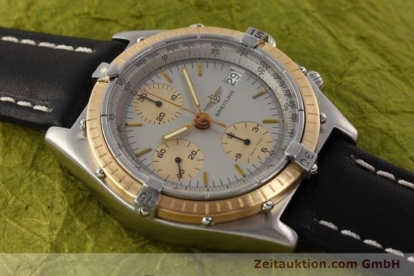 Used luxury watch Breitling Chronomat chronograph steel / gold automatic Kal. VAL 7750 Ref. 81950  | 141690 12