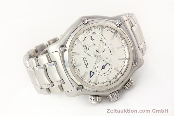 Used luxury watch Ebel 1911 steel automatic Kal. E240 Ref. E9240L70  | 141691 03