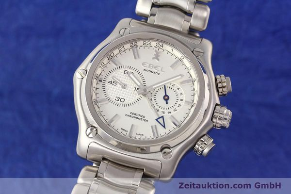 Used luxury watch Ebel 1911 steel automatic Kal. E240 Ref. E9240L70  | 141691 04