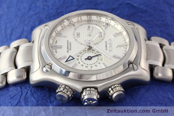 Used luxury watch Ebel 1911 steel automatic Kal. E240 Ref. E9240L70  | 141691 05