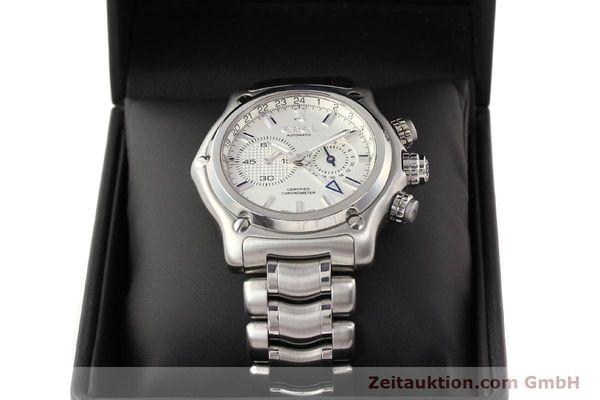 Used luxury watch Ebel 1911 steel automatic Kal. E240 Ref. E9240L70  | 141691 07