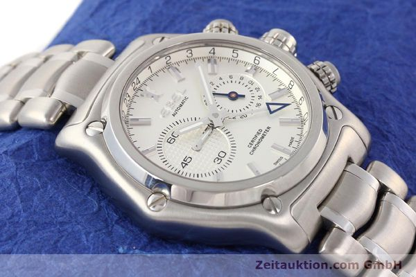 Used luxury watch Ebel 1911 steel automatic Kal. E240 Ref. E9240L70  | 141691 14