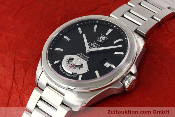 Used luxury watch Tag Heuer Carrera steel automatic Kal. 6 ETA 2895-2 Ref. WAV511A  | 141694 01