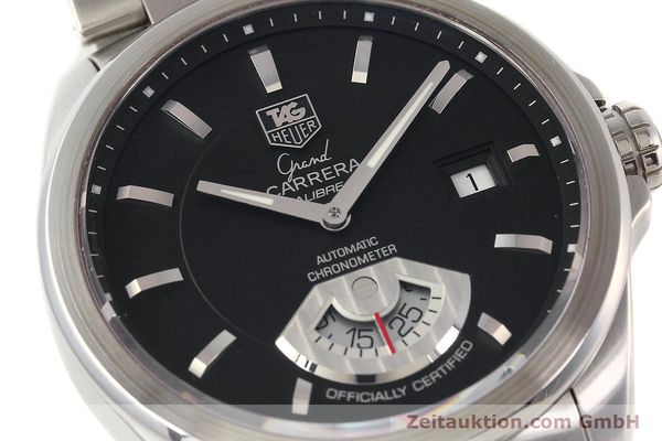 Used luxury watch Tag Heuer Carrera steel automatic Kal. 6 ETA 2895-2 Ref. WAV511A  | 141694 02