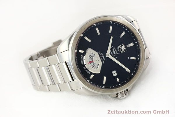 Used luxury watch Tag Heuer Carrera steel automatic Kal. 6 ETA 2895-2 Ref. WAV511A  | 141694 03