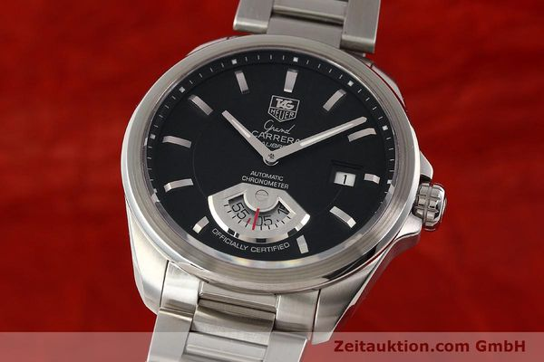 Used luxury watch Tag Heuer Carrera steel automatic Kal. 6 ETA 2895-2 Ref. WAV511A  | 141694 04