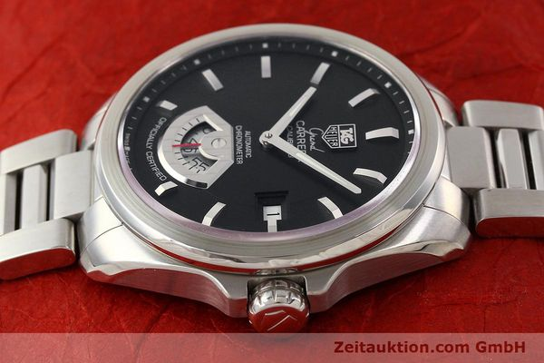 Used luxury watch Tag Heuer Carrera steel automatic Kal. 6 ETA 2895-2 Ref. WAV511A  | 141694 05
