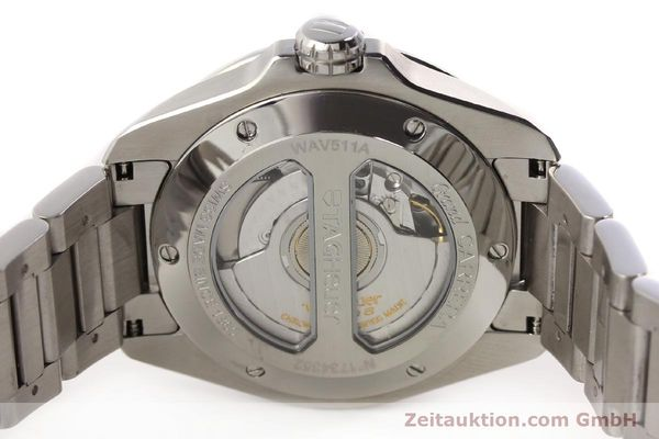 Used luxury watch Tag Heuer Carrera steel automatic Kal. 6 ETA 2895-2 Ref. WAV511A  | 141694 09