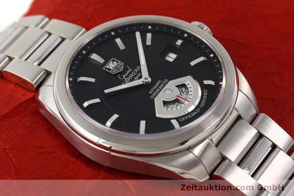 Used luxury watch Tag Heuer Carrera steel automatic Kal. 6 ETA 2895-2 Ref. WAV511A  | 141694 15