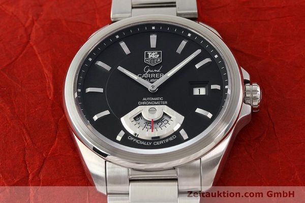 Used luxury watch Tag Heuer Carrera steel automatic Kal. 6 ETA 2895-2 Ref. WAV511A  | 141694 16