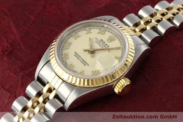 Used luxury watch Rolex Lady Datejust steel / gold automatic Kal. 2135 Ref. 69173  | 141695 01