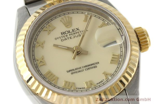 Used luxury watch Rolex Lady Datejust steel / gold automatic Kal. 2135 Ref. 69173  | 141695 02