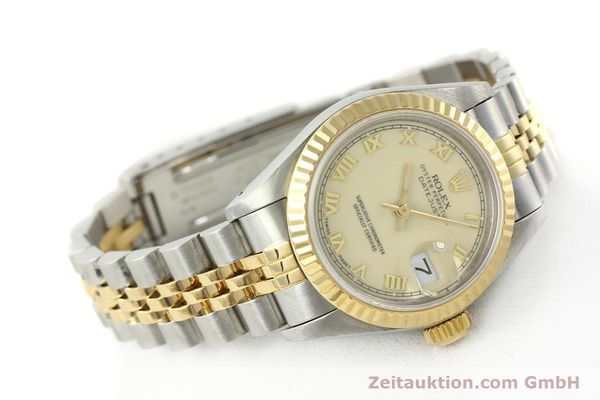 Used luxury watch Rolex Lady Datejust steel / gold automatic Kal. 2135 Ref. 69173  | 141695 03