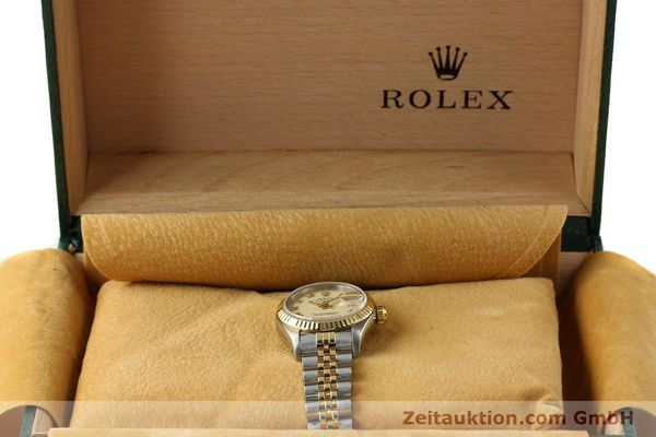 Used luxury watch Rolex Lady Datejust steel / gold automatic Kal. 2135 Ref. 69173  | 141695 07