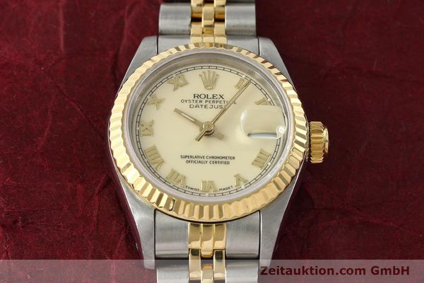 Used luxury watch Rolex Lady Datejust steel / gold automatic Kal. 2135 Ref. 69173  | 141695 16