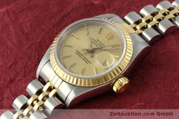 Used luxury watch Rolex Lady Datejust steel / gold automatic Kal. 2135 Ref. 69173  | 141697 01