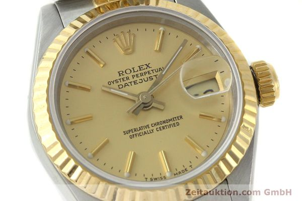 Used luxury watch Rolex Lady Datejust steel / gold automatic Kal. 2135 Ref. 69173  | 141697 02
