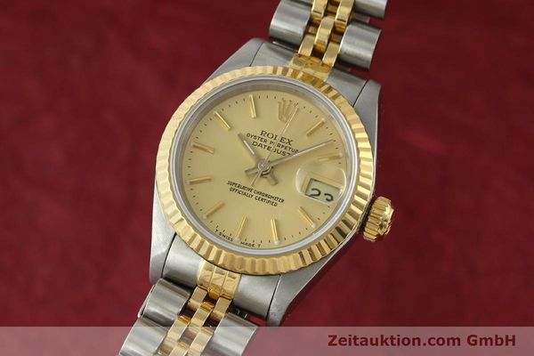 Used luxury watch Rolex Lady Datejust steel / gold automatic Kal. 2135 Ref. 69173  | 141697 04