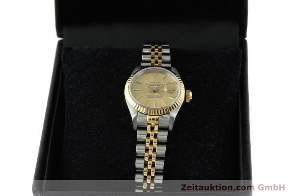 Used luxury watch Rolex Lady Datejust steel / gold automatic Kal. 2135 Ref. 69173  | 141697 07