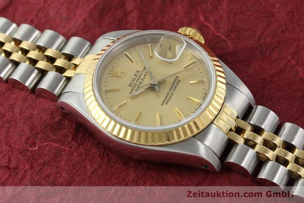 Used luxury watch Rolex Lady Datejust steel / gold automatic Kal. 2135 Ref. 69173  | 141697 15