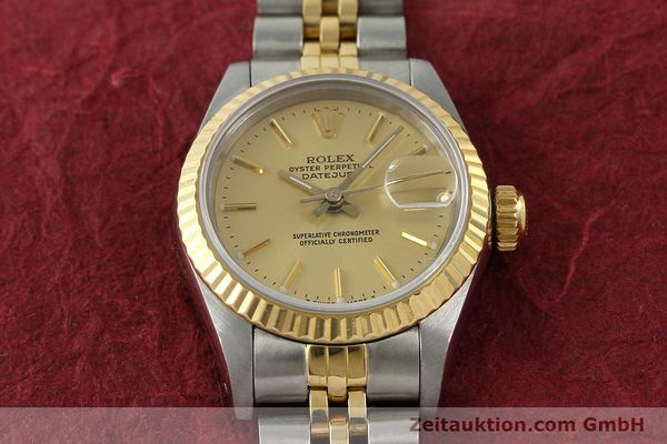 Used luxury watch Rolex Lady Datejust steel / gold automatic Kal. 2135 Ref. 69173  | 141697 16