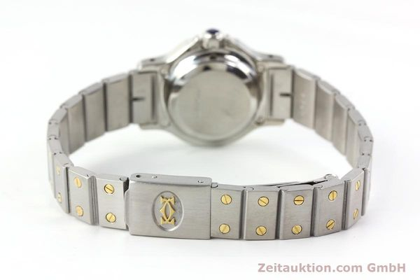 Used luxury watch Cartier Santos steel / gold automatic  | 141699 10