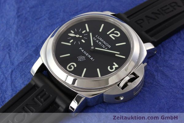 Used luxury watch Panerai Luminor Marina steel manual winding Kal. ETA 6497-2 Ref. OP6728  | 141700 01