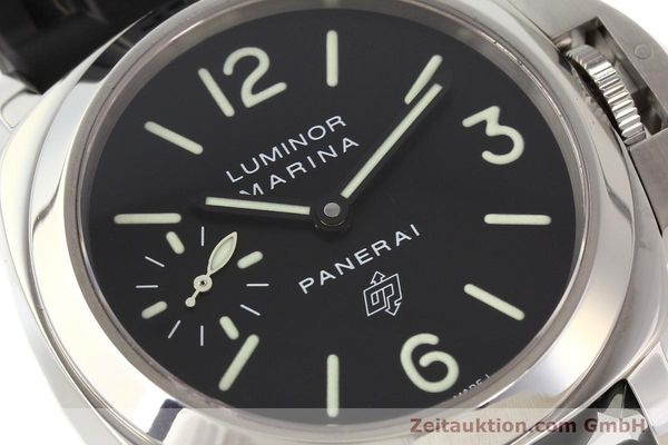 Used luxury watch Panerai Luminor Marina steel manual winding Kal. ETA 6497-2 Ref. OP6728  | 141700 02