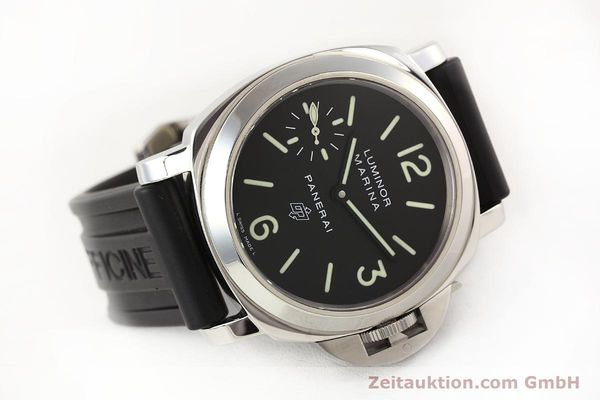 Used luxury watch Panerai Luminor Marina steel manual winding Kal. ETA 6497-2 Ref. OP6728  | 141700 03