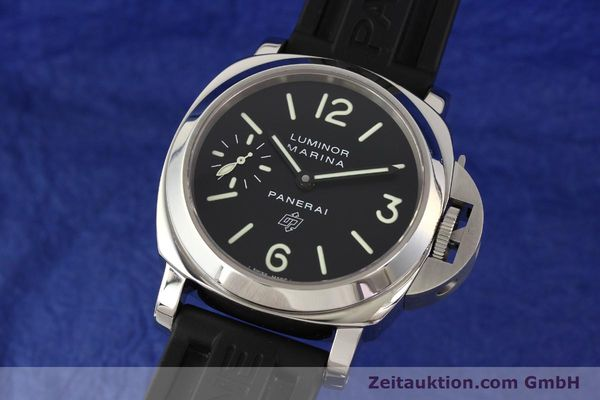 Used luxury watch Panerai Luminor Marina steel manual winding Kal. ETA 6497-2 Ref. OP6728  | 141700 04
