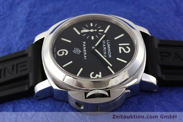 Used luxury watch Panerai Luminor Marina steel manual winding Kal. ETA 6497-2 Ref. OP6728  | 141700 05