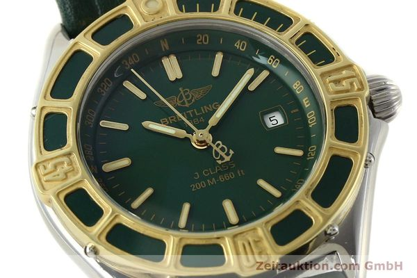 Used luxury watch Breitling J-Class steel / gold quartz Kal. B52 ETA 956.112 Ref. D52065  | 141702 02