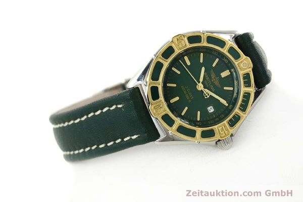 Used luxury watch Breitling J-Class steel / gold quartz Kal. B52 ETA 956.112 Ref. D52065  | 141702 03
