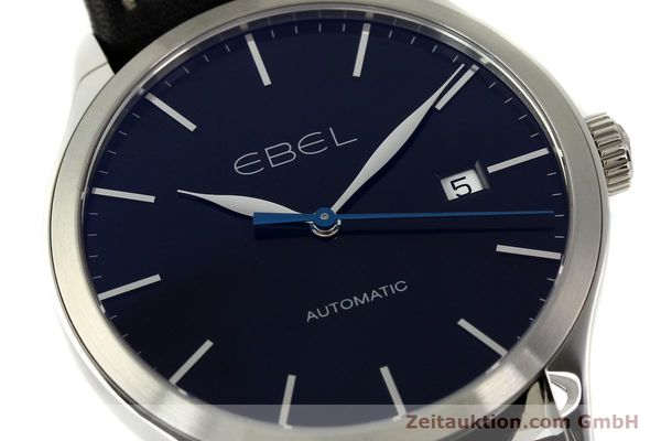 Used luxury watch Ebel Classic 100 steel automatic Kal. 120 ETA 2892A2 Ref. E9120R40  | 141705 02