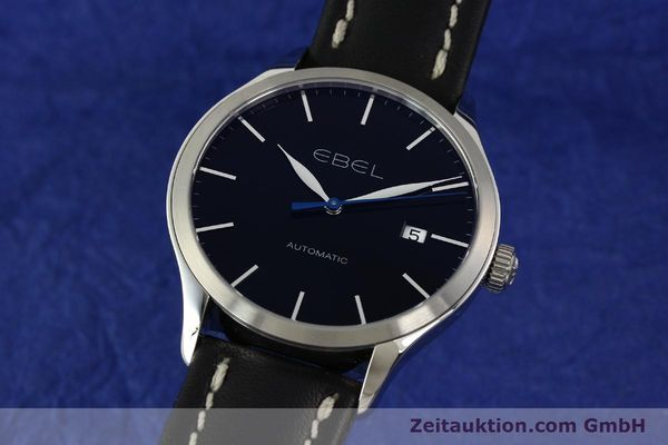 Used luxury watch Ebel Classic 100 steel automatic Kal. 120 ETA 2892A2 Ref. E9120R40  | 141705 04