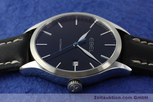 Used luxury watch Ebel Classic 100 steel automatic Kal. 120 ETA 2892A2 Ref. E9120R40  | 141705 05