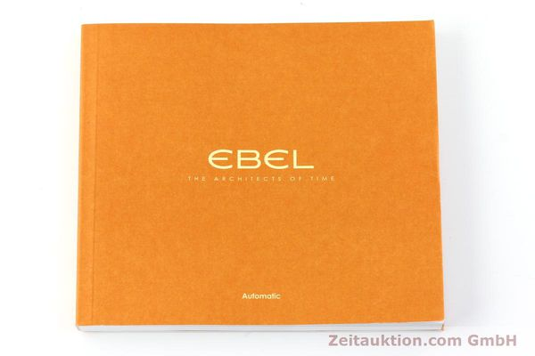 Used luxury watch Ebel Classic 100 steel automatic Kal. 120 ETA 2892A2 Ref. E9120R40  | 141705 08