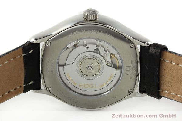 Used luxury watch Ebel Classic 100 steel automatic Kal. 120 ETA 2892A2 Ref. E9120R40  | 141705 09
