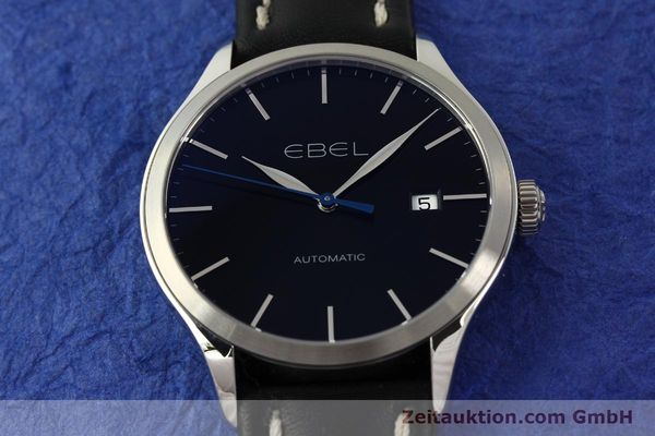 Used luxury watch Ebel Classic 100 steel automatic Kal. 120 ETA 2892A2 Ref. E9120R40  | 141705 16