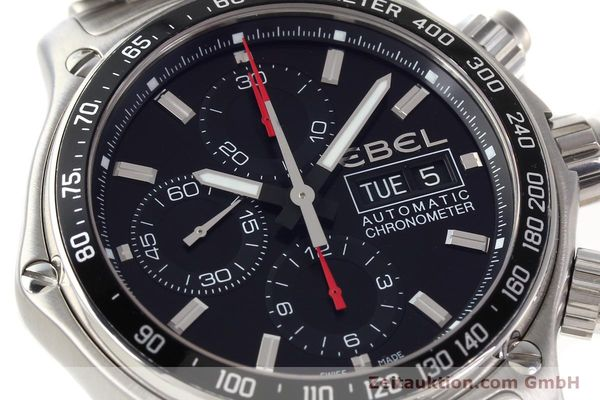 Used luxury watch Ebel Discovery steel automatic Kal. E9750L62 Ref. A198832  | 141708 02