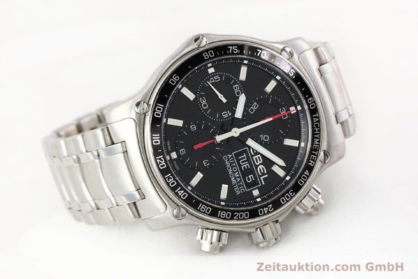Used luxury watch Ebel Discovery steel automatic Kal. E9750L62 Ref. A198832  | 141708 03
