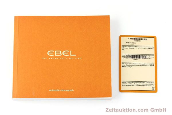 Used luxury watch Ebel Discovery steel automatic Kal. E9750L62 Ref. A198832  | 141708 08