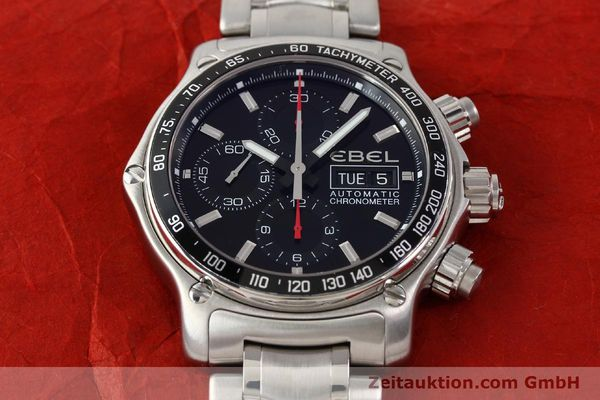 Used luxury watch Ebel Discovery steel automatic Kal. E9750L62 Ref. A198832  | 141708 16