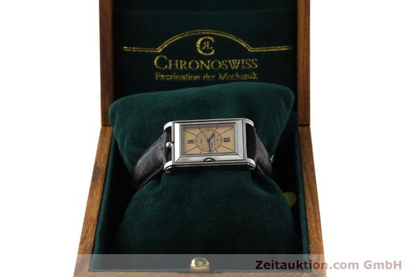 Used luxury watch Chronoswiss Cabrio steel automatic Kal. ETA 2671 Ref. CH2673  | 141710 07